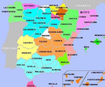 España según el nacionalismo